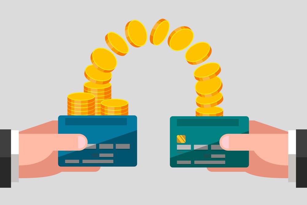 Międzynarodowe przelewy pieniężne z karty na kartę